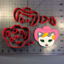 Cute Cat Series Cookie Cutters Custom Made 3D Printed Cake Cutter Set Fondant Cupcake Top Decorating Tools Molds