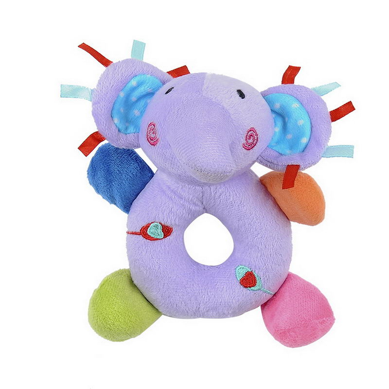 Animal Round Rattle Doll Baby Toy Smooth And Soft Suitable For Boys And Girls YH-17