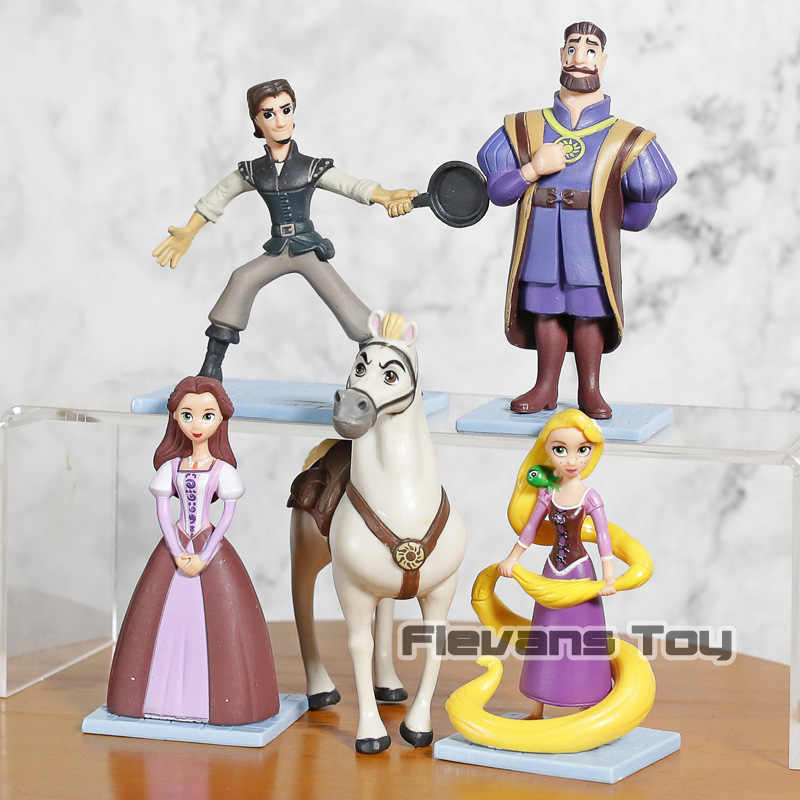 Detail Feedback Questions About 5pcs Set Cartoon Tangled Rapunzel
