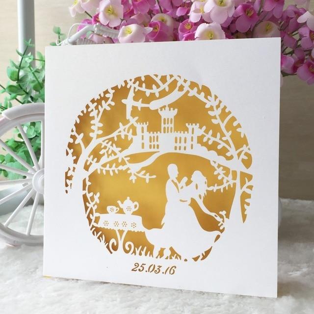 50pcslot Fairy Tale Theme Wedding Party Decoration Paper Craft