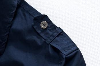 2018 shirt air force one men shirt long sleeve slim fit aeronautica militare men dress shirt 4XL camisas hombre camisa masculina 3