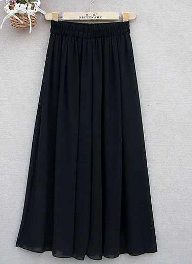 Женское, летнее, шифоновое, свободное, с расклешенным низом, палаццо, юбка, брюки для женщин, плюс размер, с высокой эластичной талией, широкие, голубые, розовые