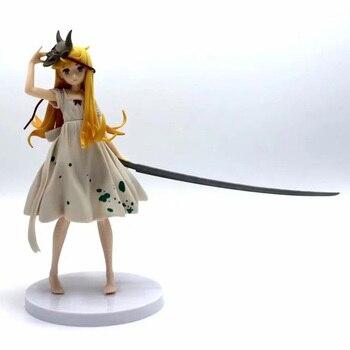 Figura de acción Bakemonogatari Oshino Shinobu, figura de máscara Ver pintada a escala 1/8. Oshino Shinobu juguete de figura de PVC Brinquedos Anime