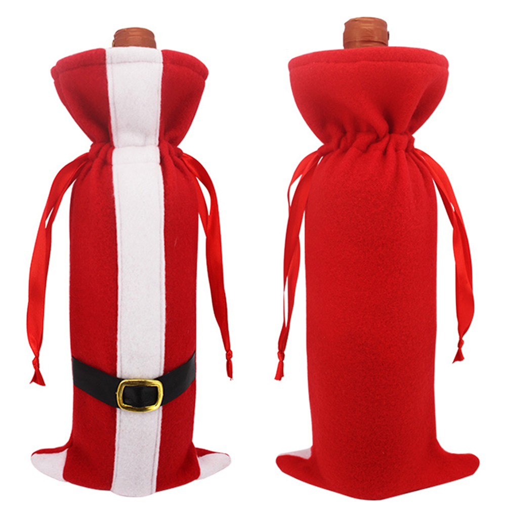 New Arrival Wine Bottle Packing Bag, Unique Design Christmas Supplies, Gift Box Wine Bottle Cover