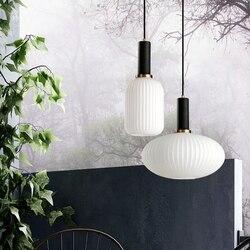 Restauracja w stylu nordyckim wiszące lampy wiszące led nowoczesna prostota dowolna kombinacja ins stylowe Droplight sypialnia Bar lampka nocna