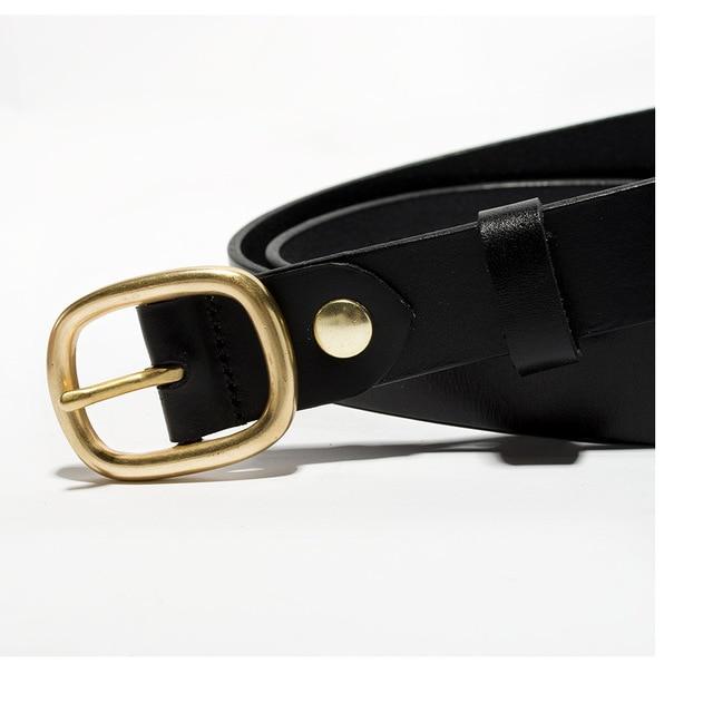 SIKU leather women's belt fashion leisure belts female soft  leather jeans belt 2.8 3
