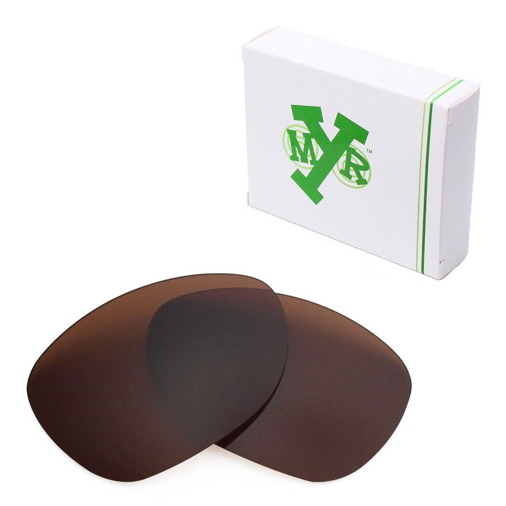 Mryok anti-Scratch polarizado Objetivos para Oakley crosshair 2012 Gafas de  sol bronce marrón 9662c30164