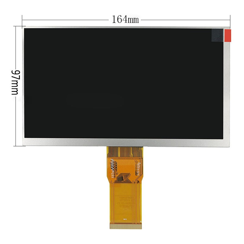 New 7 Inch Replacement LCD Display Screen For Explay Surfer 7.34 tablet PC Free shipping