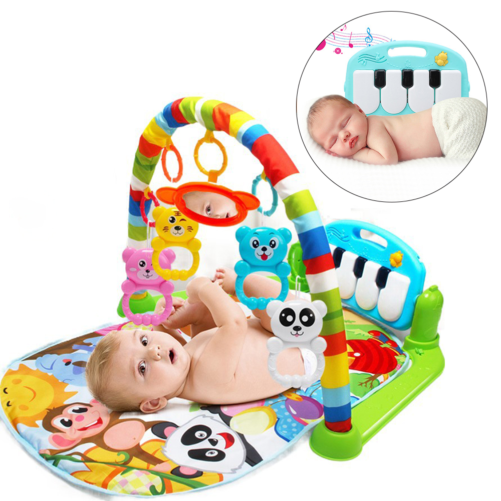 Baby Mat Kids Rug Crawling Music Developing Mat Piano Child Play Mat Rug Puzzle Toy Keyboard Baby Gym Carpet Education Rack Toy baby developing rug fitness shelf tapete infantil puzzle mat gym play mats toys for kids