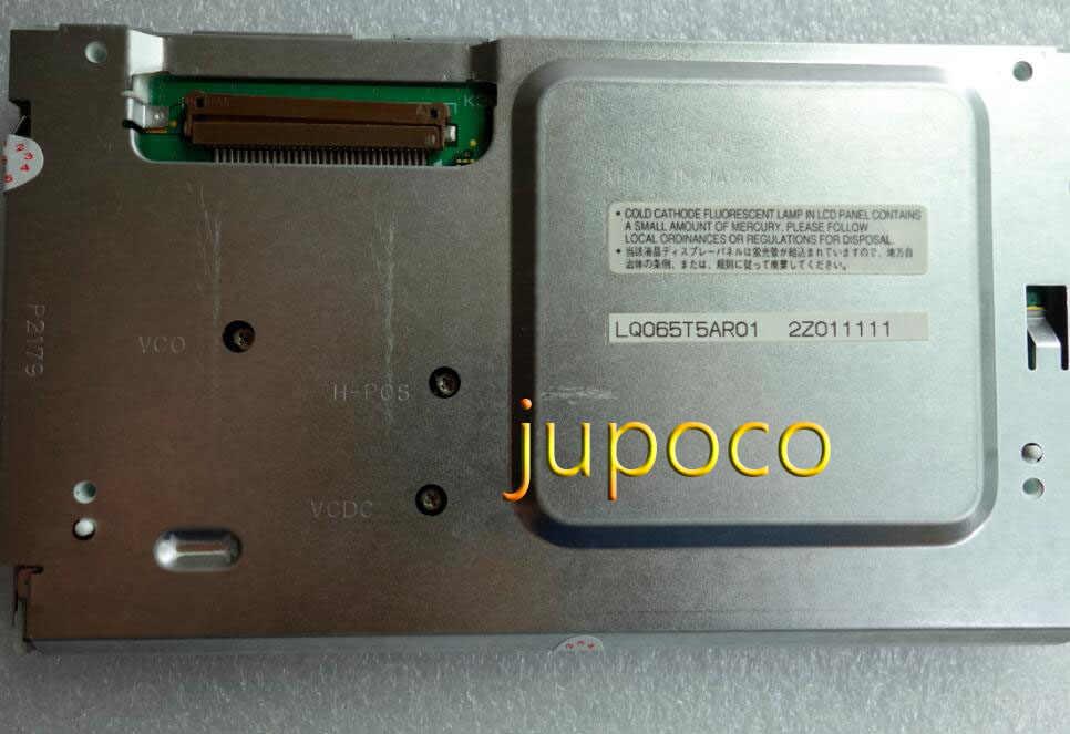 100% 新しいオリジナルカー Dvd/GPS ナビゲーション液晶ディスプレイ画面 LQ065T5AR01 液晶パネル Vw メルセデス · ベン z w211 & トゥアレグ & Cayennee