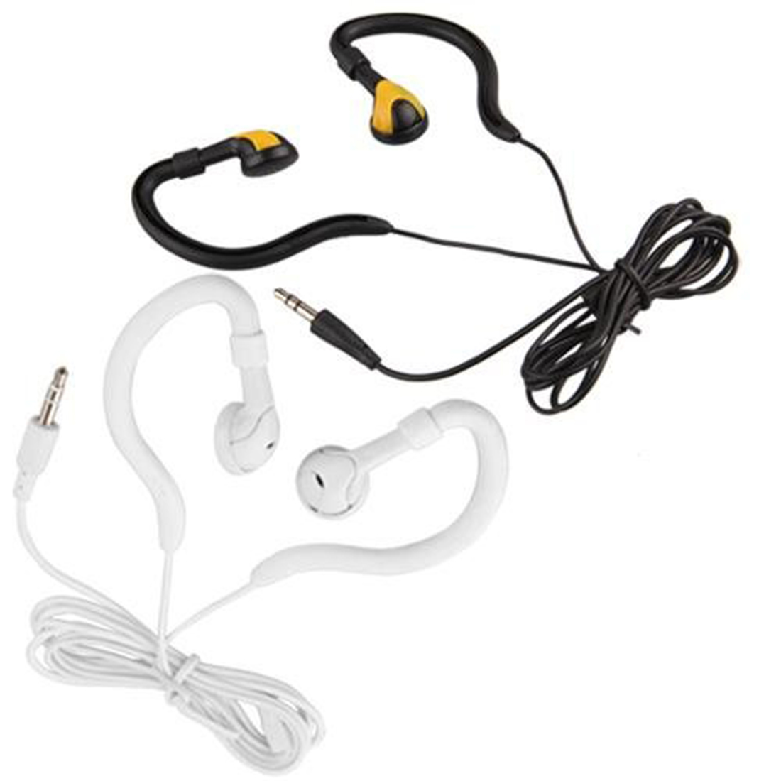 Marsnaska Running Sports Ear Hook 3.5mm para auriculares para MP3, - Audio y video portátil - foto 1
