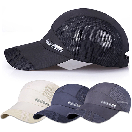 Fashion Men's Summer Running Sport Baseball Visor Hat Mesh Peaked Cap skullies beanies mink mink wool hat hat lady warm winter knight peaked cap cap peaked cap