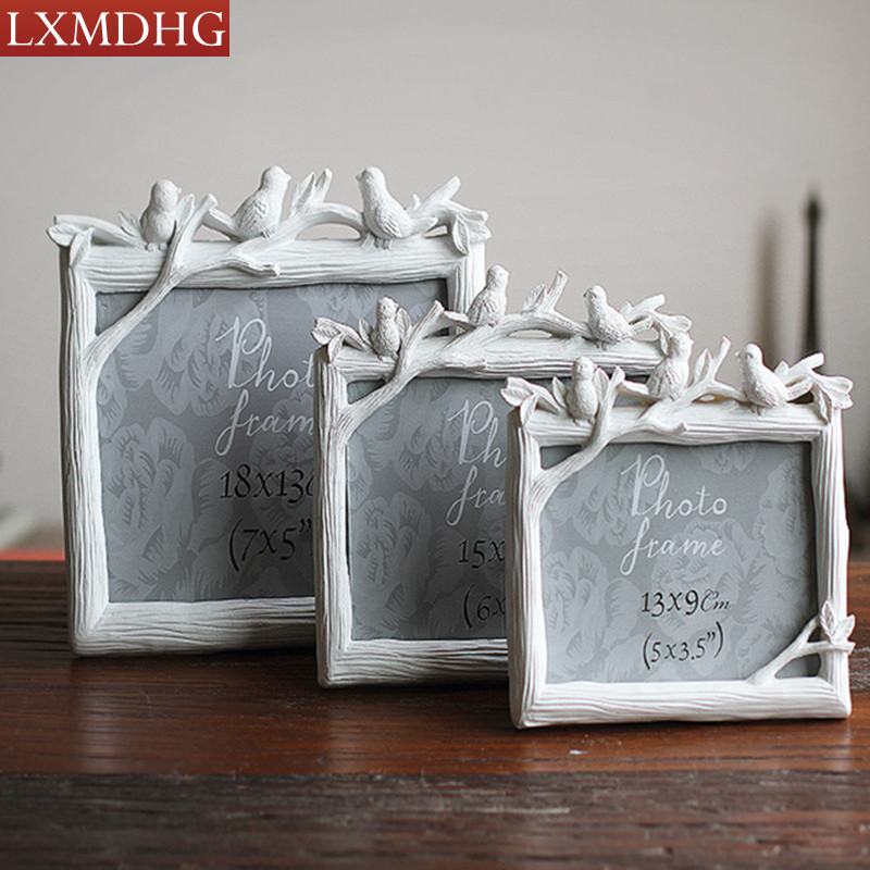 Photo Frame Cheap Picture Frames Resin Modern Wall Photo