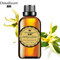 Dimollaure Ylang Essential Oil 30ml Aphrodisiac Skin Care Body Massage Oil Aromatherapy Fragrance Lamp Plant Essential
