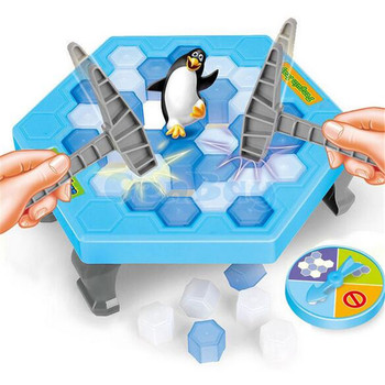 Penguin Ice Breaking Save The Penguin Great Family Toys Gifts Board Game Fun Game Who Make The Penguin Fall Off Lose This Game фото