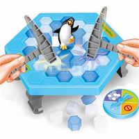 Pinguin Eis Brechen Sparen Die Pinguin Große Familie Spielzeug Geschenke Board Spiel Spaß Spiel, Die Machen Die Pinguin Fallen verlieren Dieses Spiel