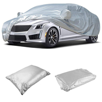 NICECNC Car Cover Polyester Anti Scratch Dust Sun Resistant for Honda Civic Toyota Corolla