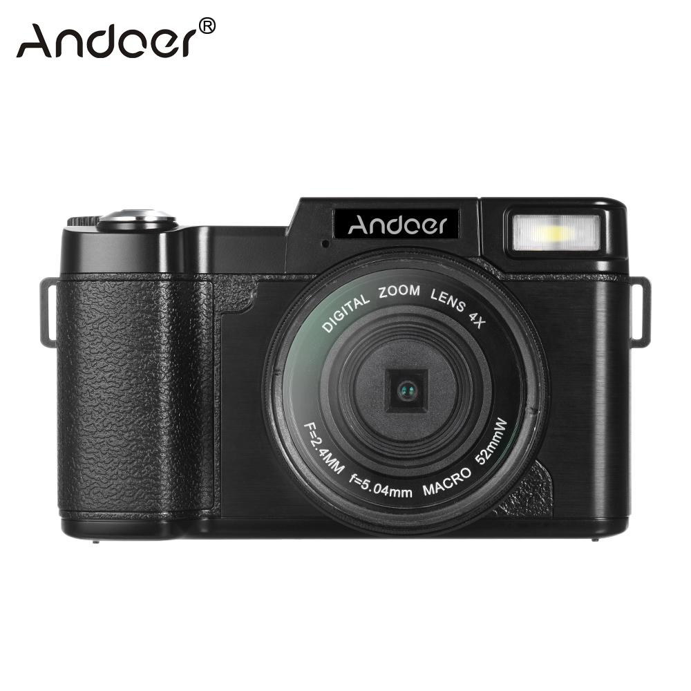 andoer r1 1080p 15fps full hd 24mp digital camera cam 30 rotatable lcd screen video
