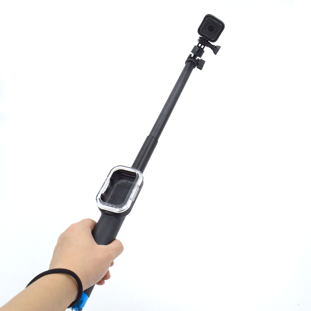 For Go Pro Accessories 39 Extendable Handheld Pole Telescopic Monopod Stick Wifi Remote Case for Gopro