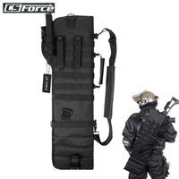 Tactical Pistol Breacher's Shotgun Scabbard Holster Military Army Gun Bag Shell Holder Airsoft Rifle Case Hunting Backpack Nylon