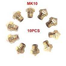 10PCS MK10 M7 Extruder Nozzle for 3D Printer Wanhao Dupicator D4 I3 Dremel QIDI Makerbot 2