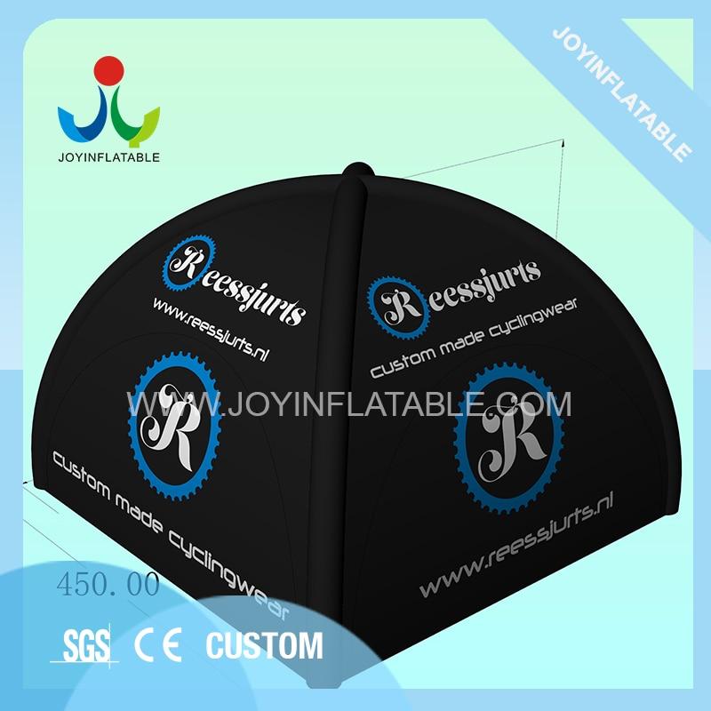 Открытый черный паук надувной тент для кемпинга с 4 ножками для продажи