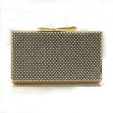 Flap Day Clutches Synthetic Leather Single Solid High Grade Diamond Dinner New Evening Bag Unique Hand Factory Direct Sales
