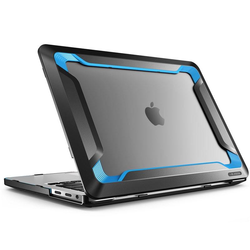 Pour MacBook Pro 15 Case A1990/A1707 (2019 2018 2017 libération 2016) avec barre tactile Touch ID protection de pare-chocs en polyuréthane caoutchouté robuste