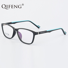 QIFENG Spectacle Frame Men Young People Student Eyeglasses Boy Girl Computer Optical Glasses Clear Lens Eyewear QF203