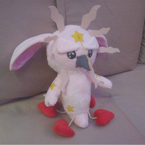 JoJos Bizarre Adventure anime plush toy Johnny Joestar s Stand Tusk cosplay plush doll 30cm high