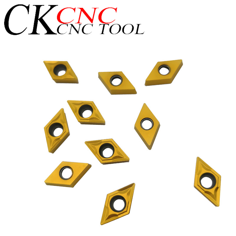 10 Pcs DCMT070204 UE6020 Carbide Inserts Internal Turning Tool DCMT 070204 Face Endmills Lathe Tools Milling Cutter CNC Tool