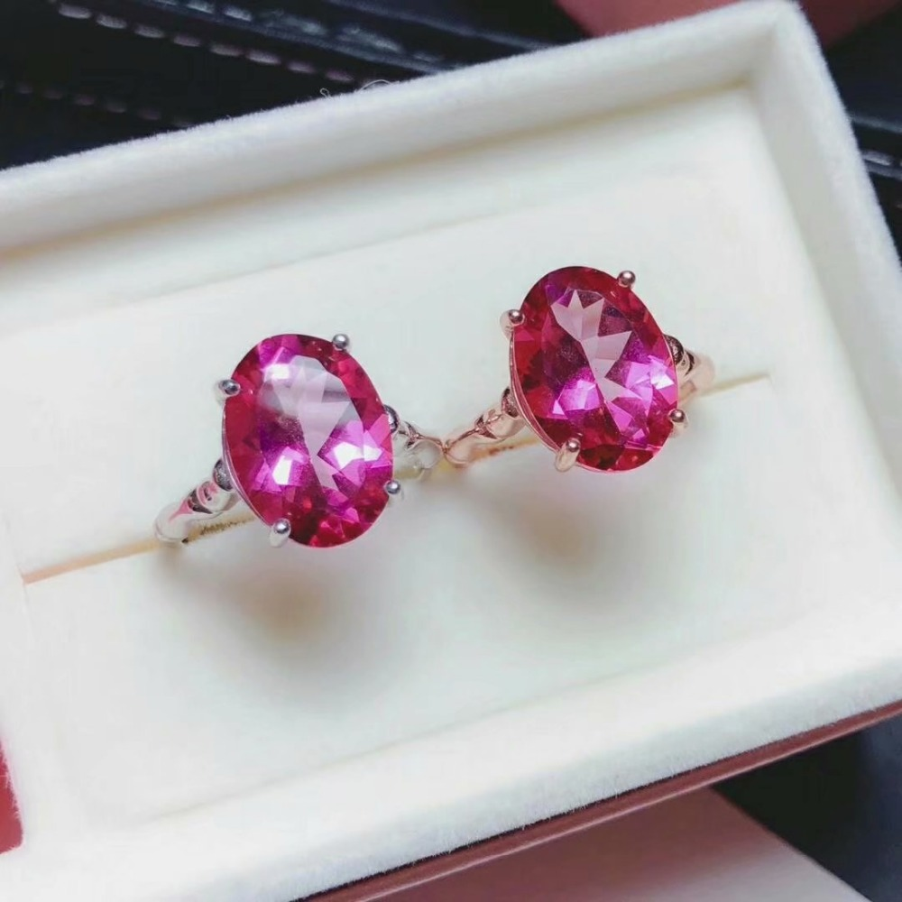 shilovem 925 silver sterling rings natural topaz pink ring woman open trendy fine new gift Jewelry plant yhj101409agfbshilovem 925 silver sterling rings natural topaz pink ring woman open trendy fine new gift Jewelry plant yhj101409agfb