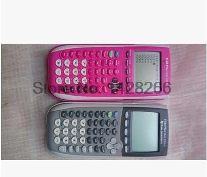 Новый Техас Инструменты ti-84 плюс c silver edition графический калькулятор модные Батарея calculatrice LED калькулятор-случайный цвет ...
