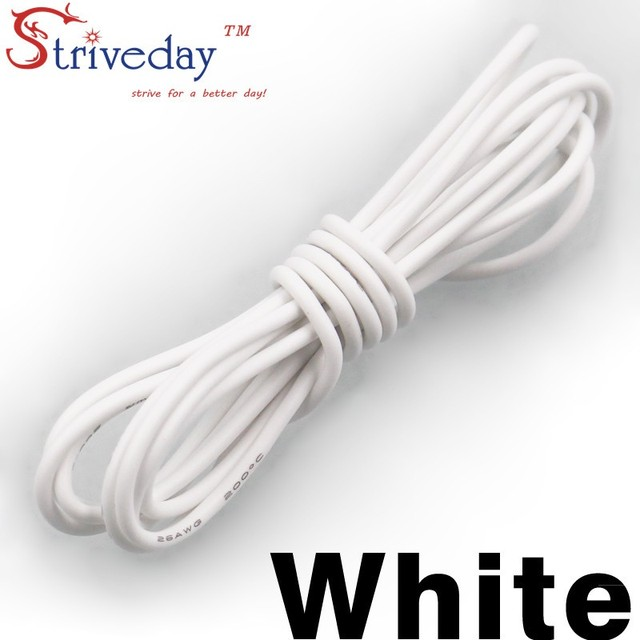 13AWG Flexible Silikon Draht RC Kabel 13AWG 500/0. 08TS ...