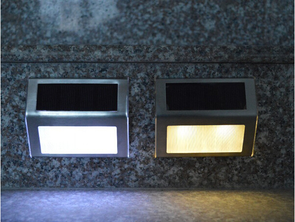 Koud Wit Licht : 10 stks led zonne energie lichten warm koud wit 2 led tuin lamp