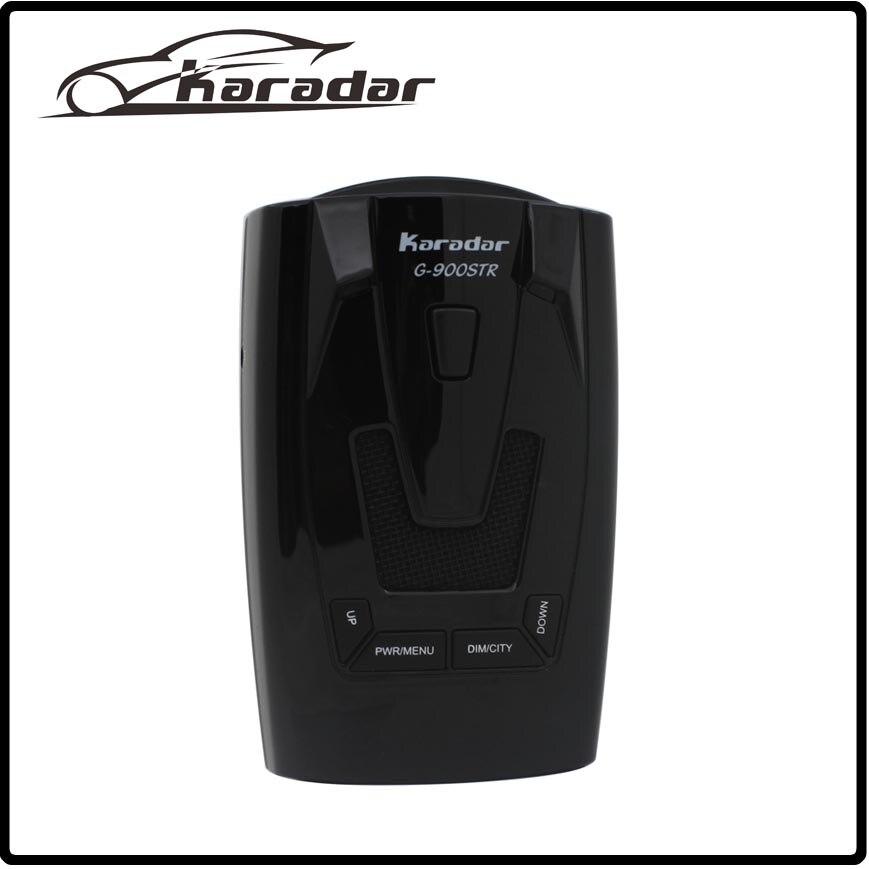KARADAR car-detector G-900STR OLED GPS Radar Detector Anti Radar Car Radar Detector Laser Strelka Car Detector Russian Voice