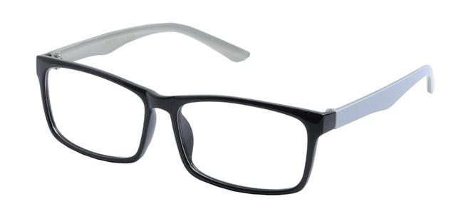 DEDING Brand Designer Oversized Optical Frame Eyeglasses Men\'s big ...