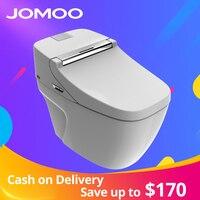 JOMOO Smart Toilet Auto Operated Multi Functions Elongate электрическое биде тепло сидит светодиодный свет встроенный детский тренировочный стул