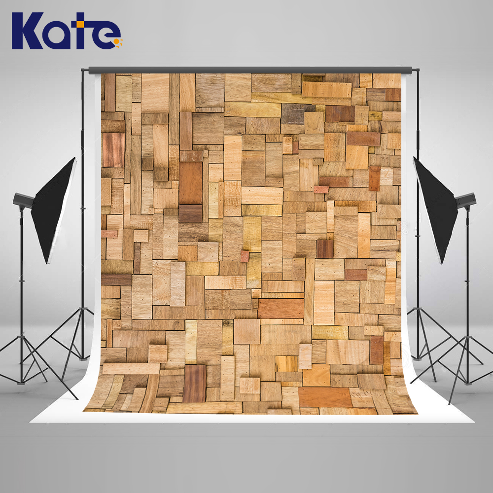 KATE  300CMC*300cm(10ft*10ft) photo background wood Panoramic wood board chroma key  photography studio backgrounds 300cm 200cm 7ft 10ft classic wood photography background woodvintage photo propsbackdrop photo ntzc 033