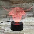 3D Led Light Decorative Table Lampe Dry Batteries Lamps Veilleuses Pour Enfants Bedroom Luminaria Mini usb Lampade Kids Lamparas