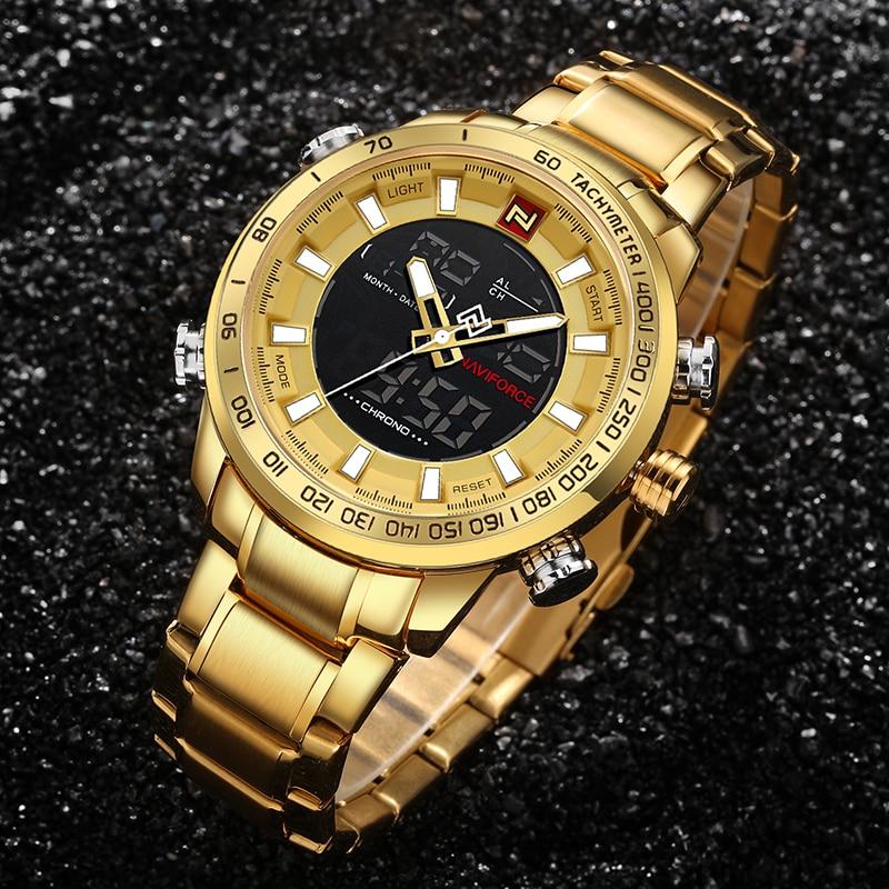 NAVIFORCE Luxury Brand Sport Watch Quartz 1