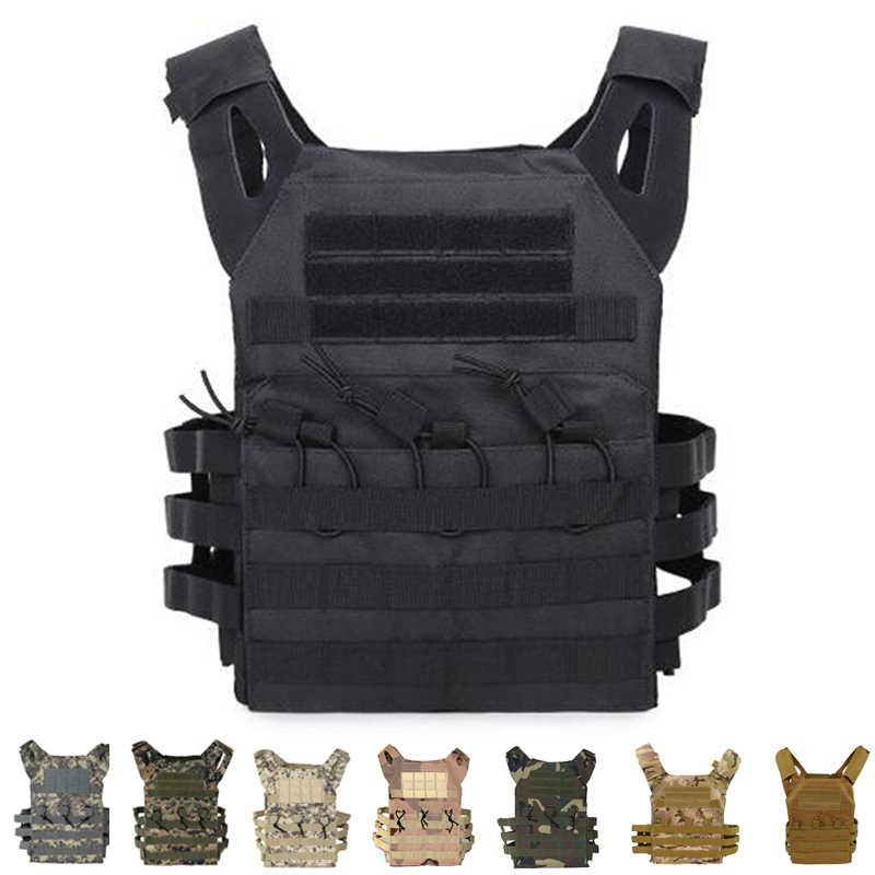 ציד טקטי גוף שריון JPC Molle Carrier פלייט אפוד חיצוני CS משחק פיינטבול Airsoft אפוד צבאי ציוד