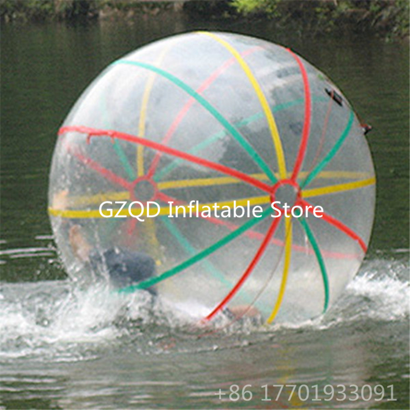 Summer Hot Selling Roll Inside Inflatable Water Walking Ball Inflatable Human Zorb Hamster Balloon Running Water Bubble Ball free shipping inflatable water walking ball human hamster ball water ball on sale