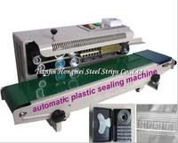 Guaranteed 100% New 220V Automatic Continuous Plastic Bag Sealing Machine , Foil Bag Heat Sealing Sealer Machine FR 900