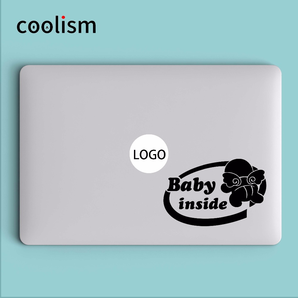 """baby Innen"" Humor Laptop Aufkleber Aufkleber Für Macbook Air Abziehbild 13 Pro Retina 11 12 15 Zoll Hp Mi Mac Buch Haut Notebook Aufkleber"