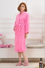 2017 Autumn winter bathrobes for women men  lady's  long sleeve flannel robe  female  male sleepwear  lounges  homewear pyjamas