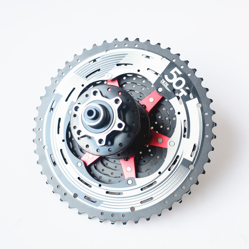 SunRace 12 Speed Cassette Mountain Bicycle Freewheel 10-50T +  Rear hub QR 135X10MM SunRace 12 Speed Cassette Mountain Bicycle Freewheel 10-50T +  Rear hub QR 135X10MM