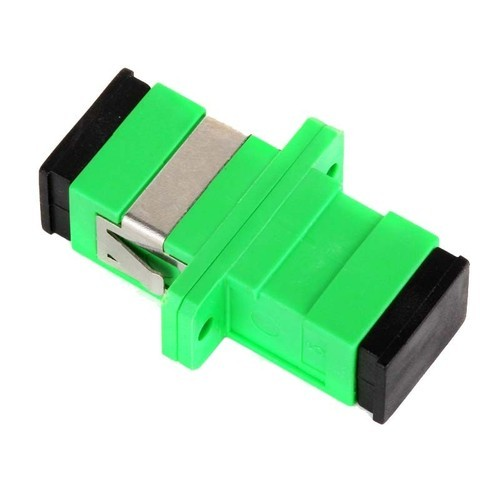SC/APC Fiber Optical Connector Flange Head Coupler Square joint 200pcs/lots Adapter free shipping to RussiaSC/APC Fiber Optical Connector Flange Head Coupler Square joint 200pcs/lots Adapter free shipping to Russia