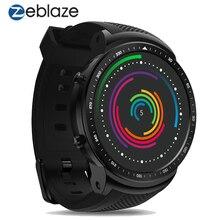 """Zeblaze Thor PRO 3G GPS WiFi Smartwatch MTK6580 dört çekirdekli 1GB/16GB Bluetooth 1.53 """"kol saatleri nano SIM kalp hızı akıllı saat"""