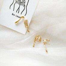 Irregular shape earrings simple daily wear with European and American style asymmetric earrings for women цена
